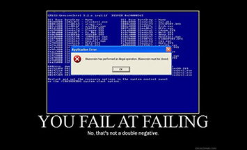 Fail to Fail