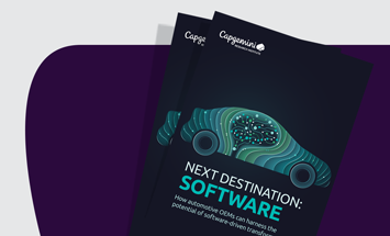 Software-driven transformation will be a key differentiator for automotive manufacturers in the next decade
