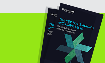 10% of global businesses are front-runners in inclusion and diversity practices within their technology functions
